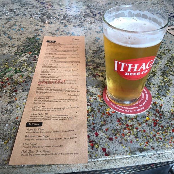 Photo taken at Ithaca Beer Co. Taproom by Joe on 8/12/2017