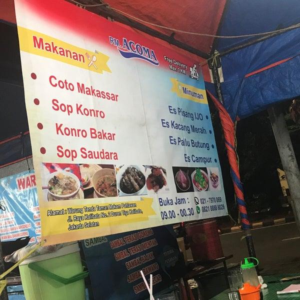 Photo taken at Pusat Kuliner Jajan Makan TMP Kalibata by Ashley C. on 9/24/2017