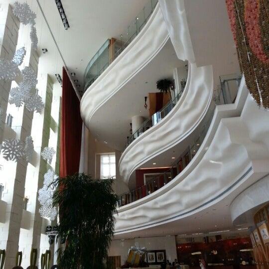 Photo taken at Shangri-La Hotel by Joanah U. on 12/29/2012