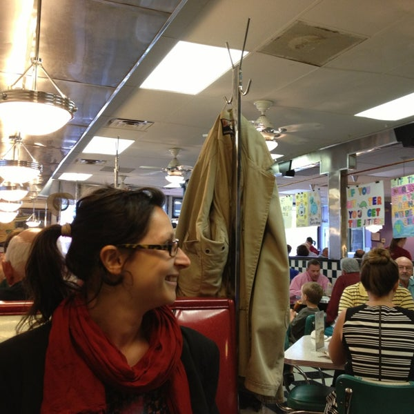 Photo taken at Hub City Diner by Pauline O. on 4/11/2013