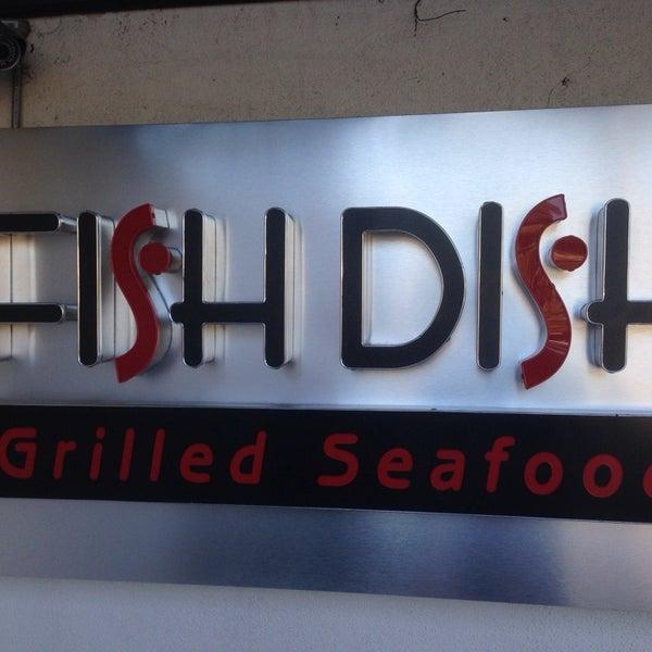 Photo taken at Fish Dish Grilled Seafood by Robert J. on 1/17/2014