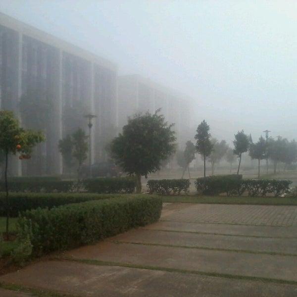 Photo taken at Technopolis by Abderrahman E. on 3/26/2013