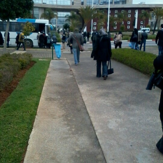 Photo taken at Technopolis by Abderrahman E. on 2/13/2013