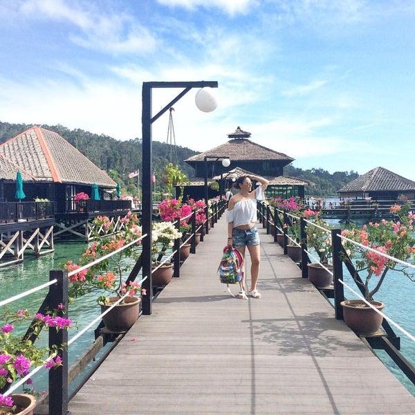 Photo taken at Gayana Eco Resort by Valentina C. on 5/10/2016
