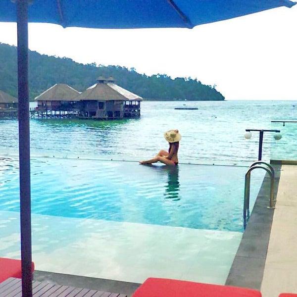 Photo taken at Gayana Eco Resort by Valentina C. on 5/8/2016