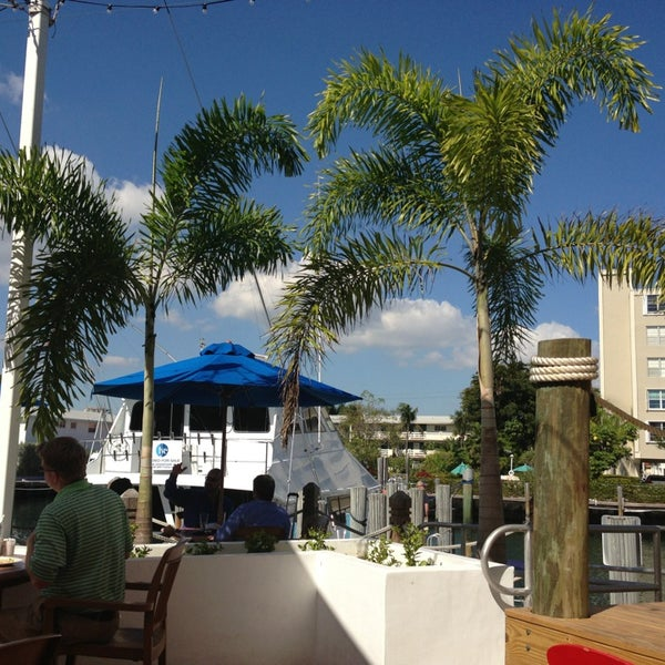 Photo taken at Bimini Boatyard Bar & Grill by Katja . on 1/24/2013