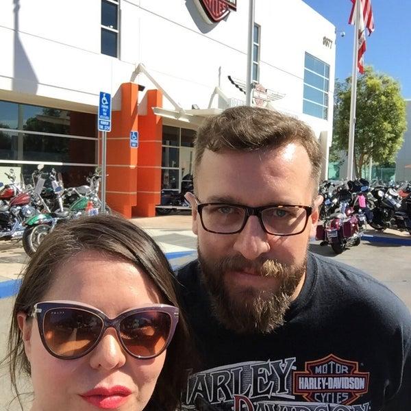 Photo taken at Orange County Harley-Davidson by Manuel V. on 10/10/2015