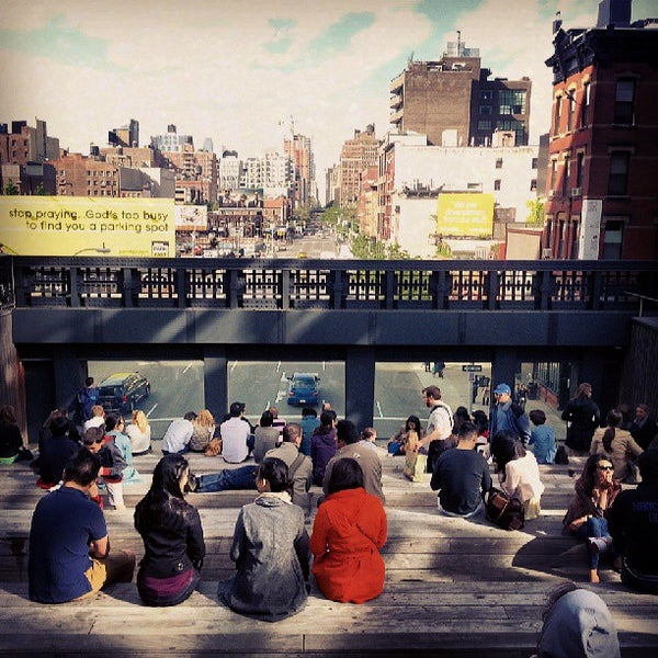 Photo taken at High Line 10th Ave Amphitheatre by Ryan K. on 5/26/2013