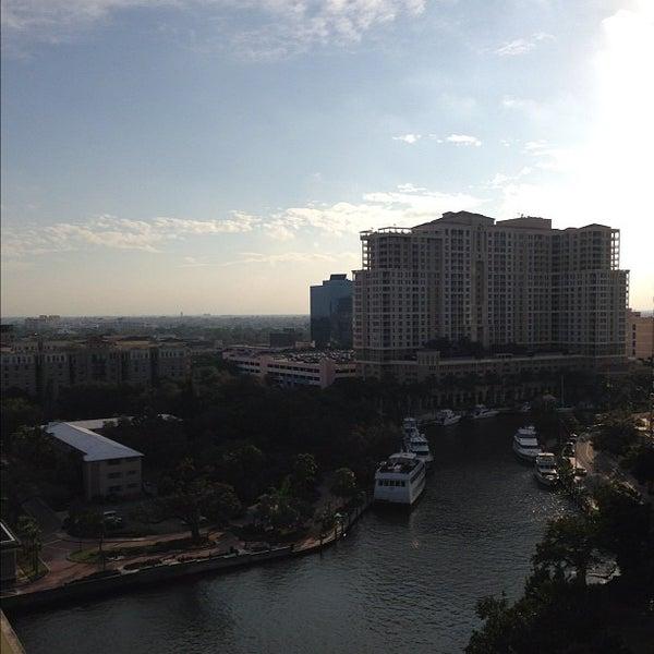 Photo taken at Riverside Hotel by Nick G. on 11/20/2012
