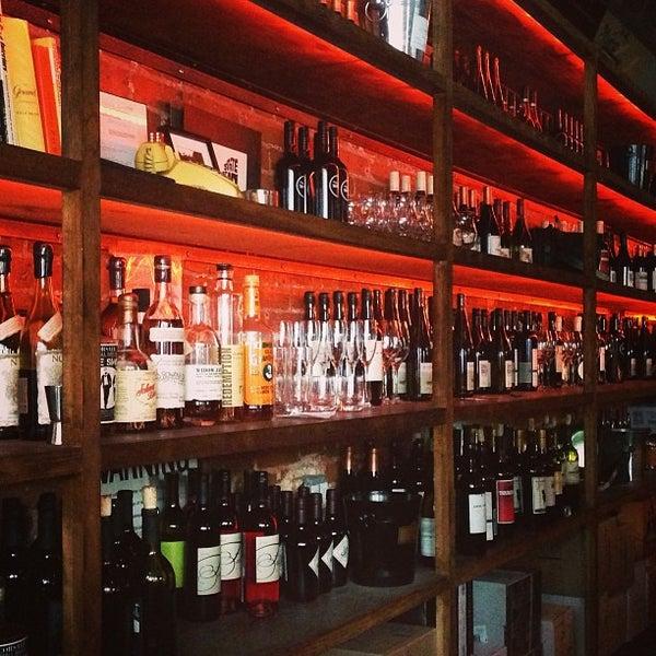 Photo taken at Custom Wine Bar by kenyatta c. on 8/3/2013