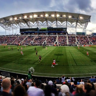 Photo taken at Talen Energy Stadium by Chris S. on 6/23/2013