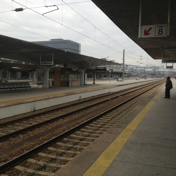 Photo taken at Estação Ferroviária de Porto-Campanhã by Miguel R. on 1/8/2013