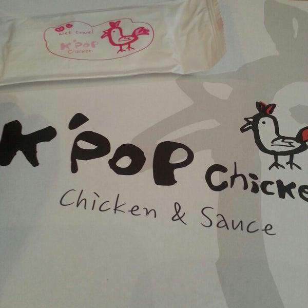 Photo taken at K'Pop Chicken by Paula L. on 1/23/2014