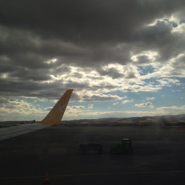 Photo taken at Ankara Esenboğa Airport (ESB) by Semih on 10/6/2013