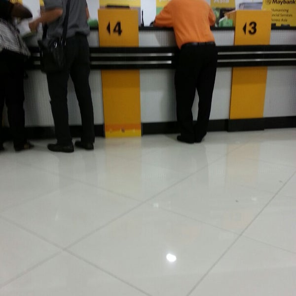 Photo taken at Maybank by baby z. on 4/11/2013