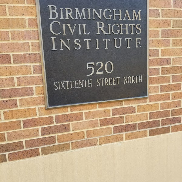 Photo taken at Birmingham Civil Rights Institute by LaWana M. on 7/21/2017