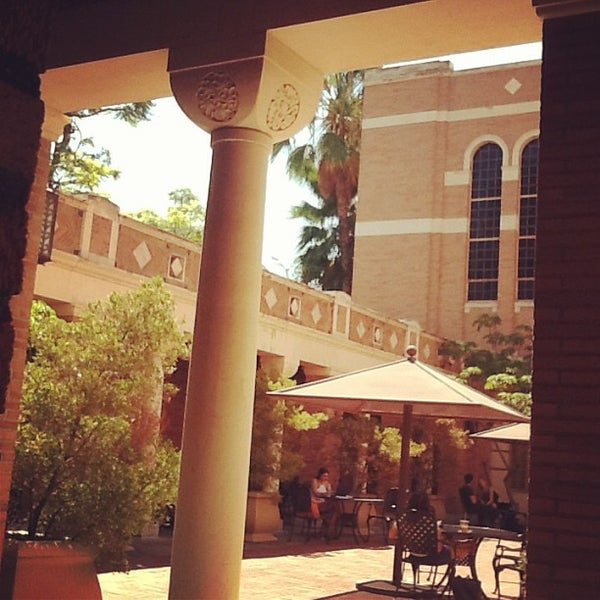 Photo taken at Doheny Memorial Library (DML) by Sarah T. on 9/12/2013