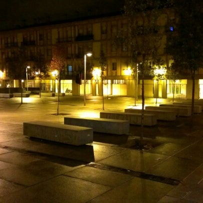 Photo taken at Plaza de Nelson Mandela by Angel S. on 11/8/2012