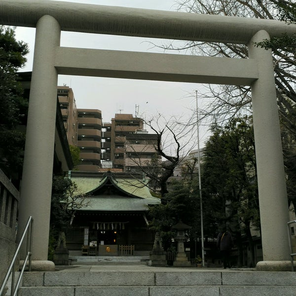 Photo taken at 大塚天祖神社 by きっしぃ a. on 2/5/2017