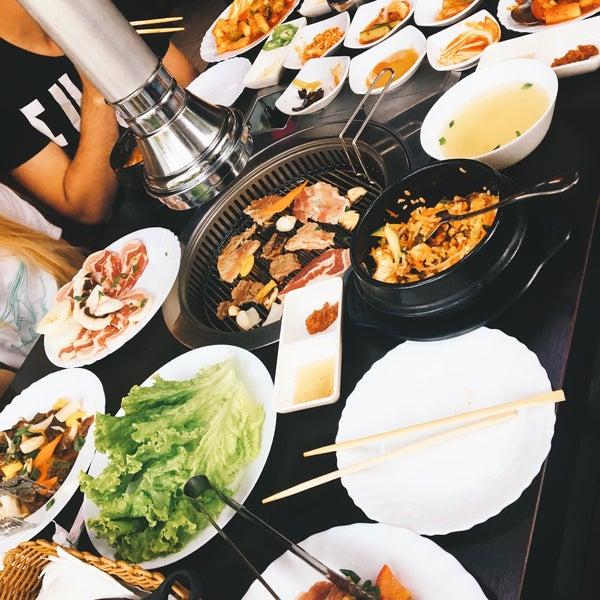 Снимок сделан в Korean BBQ гриль пользователем Nga M. 7/11/2017