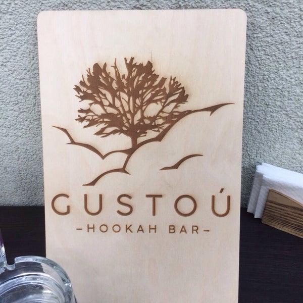 Снимок сделан в Lounge Bar GUSTOÚ | ГУСТОЙ пользователем Татьяна В. 9/24/2016
