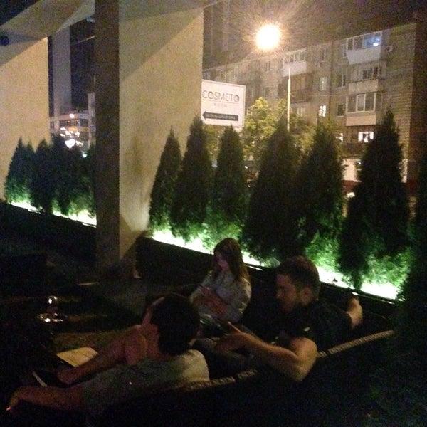 Снимок сделан в Lounge Bar GUSTOÚ | ГУСТОЙ пользователем Татьяна В. 8/21/2016