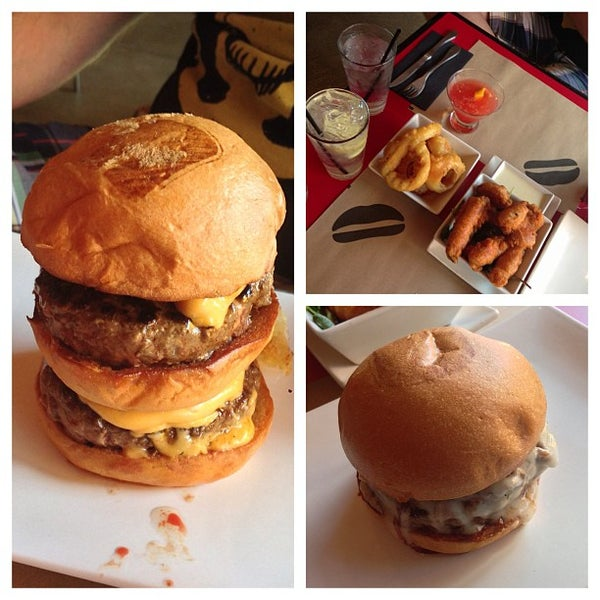 Photo taken at Umami Burger by A on 5/29/2013