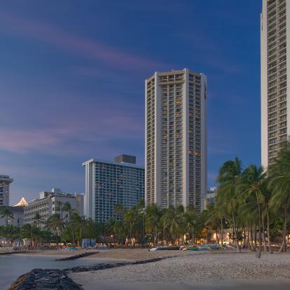 Photo Taken At Hyatt Regency Waikiki Beach Resort And Spa By