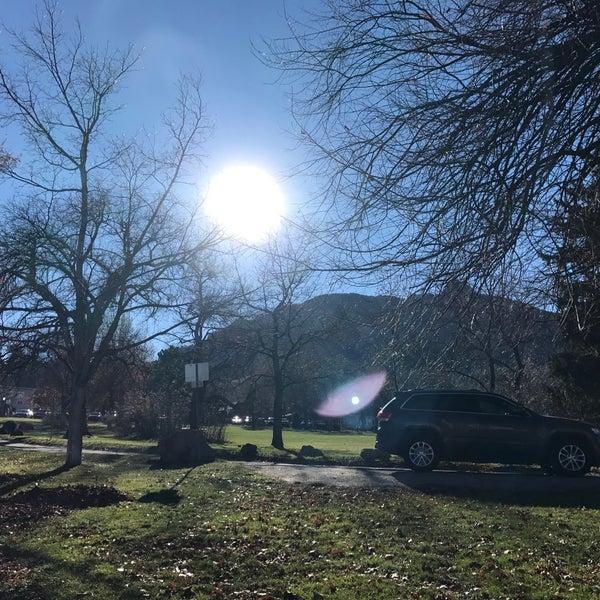 Photo taken at Colorado Chautauqua National Historic Landmark by Yui A. on 11/20/2017