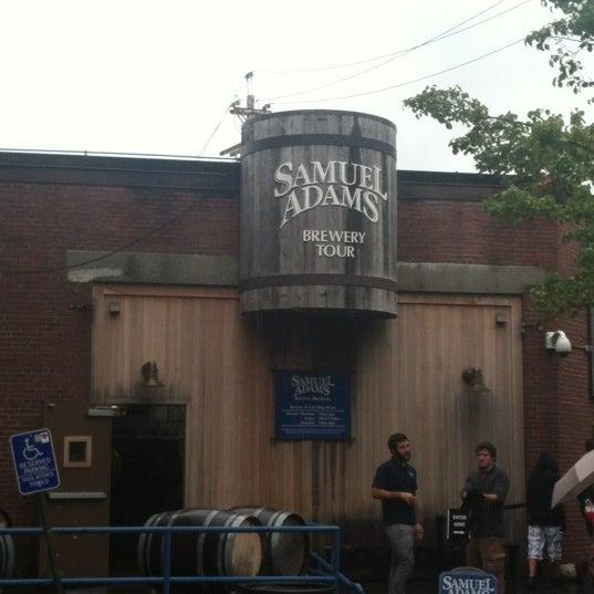 Photo taken at Samuel Adams Brewery by Teddybear on 9/28/2012