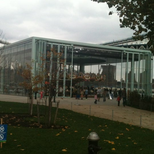 Photo taken at Jane's Carousel by James G. on 10/27/2012