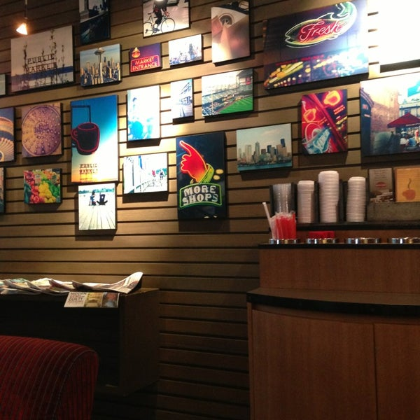 Photo taken at Seattle's Best Coffee by Helena on 3/10/2013