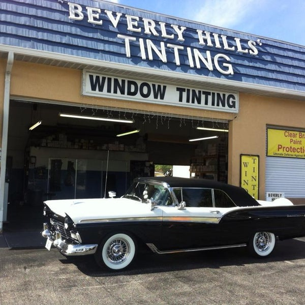 Photo Taken At Beverly Hills Window Tinting Treatments By Amp