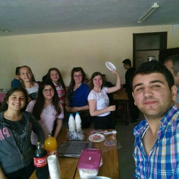 Photo taken at küplü çok programlı anadolu lisesi by Betül Nur D. on 5/25/2016