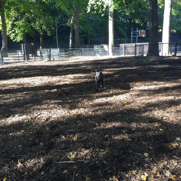 Photo taken at Marcus Garvey Park - Dog Run by Michael R. on 10/10/2016