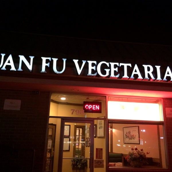 Photo taken at Yuan Fu Vegetarian by William D. on 10/28/2013