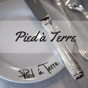 Das Foto wurde bei Pied à Terre von Pied à Terre am 11/3/2015 aufgenommen