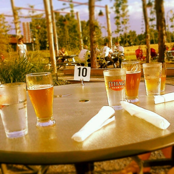Photo taken at Ithaca Beer Co. Taproom by Jables S. on 7/6/2013