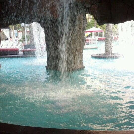 Photo taken at Flamingo GO Pool by Teresa P. on 9/25/2012