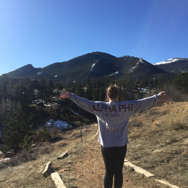 Photo taken at YMCA of the Rockies by Emily E. on 2/28/2016