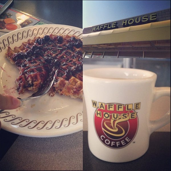 Photo taken at Waffle House by Mike G. on 10/24/2012