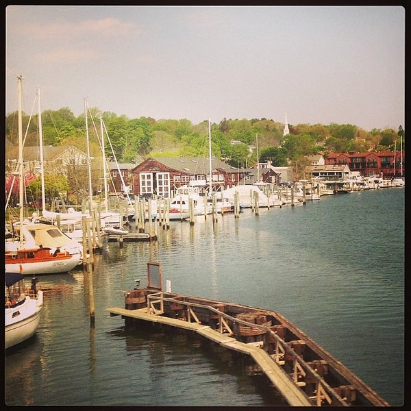 Photo taken at Mystic, CT by Rayna N. on 5/14/2014