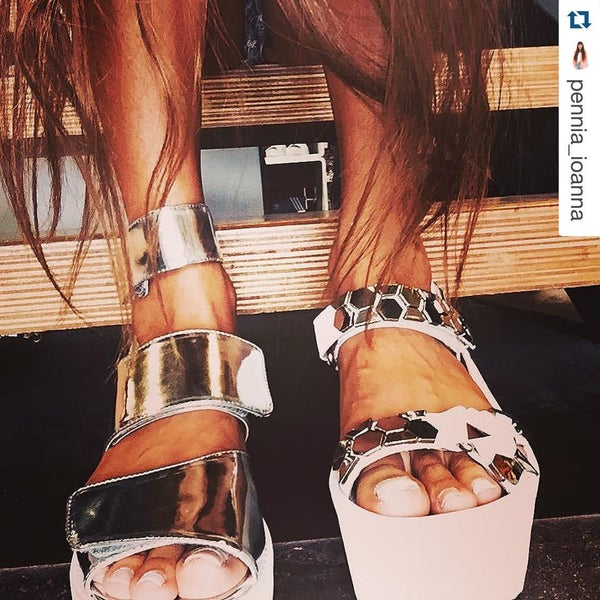Photo taken at Favela for Jeffrey Campbell by Favela f. on 9/2/2015