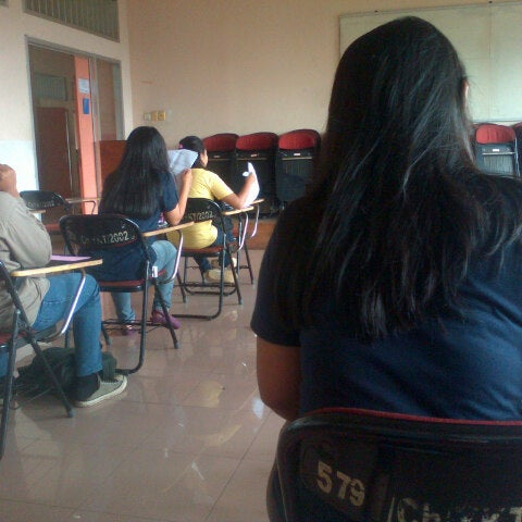Photo taken at Institut Ilmu Sosial dan Ilmu Politik (IISIP) by Tiara S. on 4/22/2013