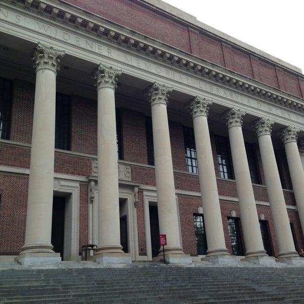 Photo taken at Widener Library by Stefan W. on 5/24/2013