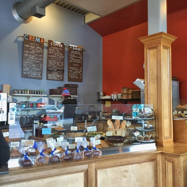 Photo taken at Crema Bakery and Cafe by Richard V. on 1/13/2016