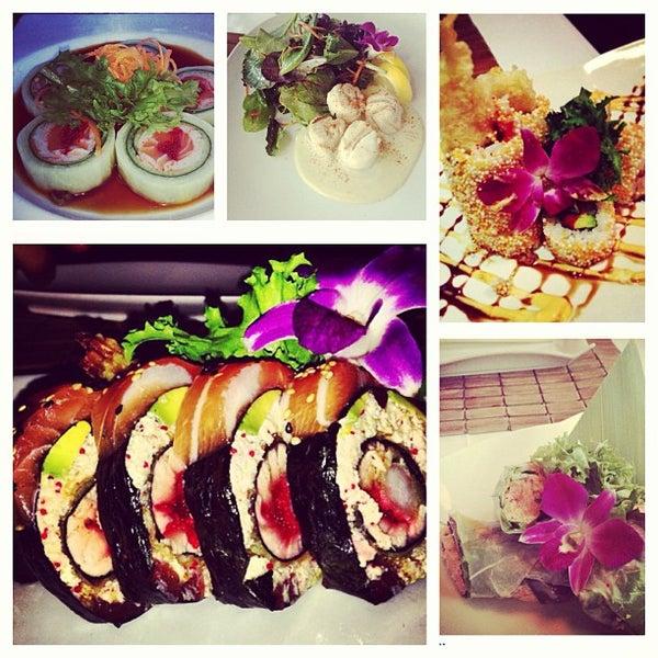 sushi og amning