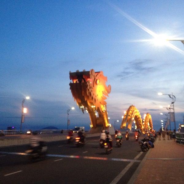 Photo taken at Han River Bridge by christine z. on 5/15/2016