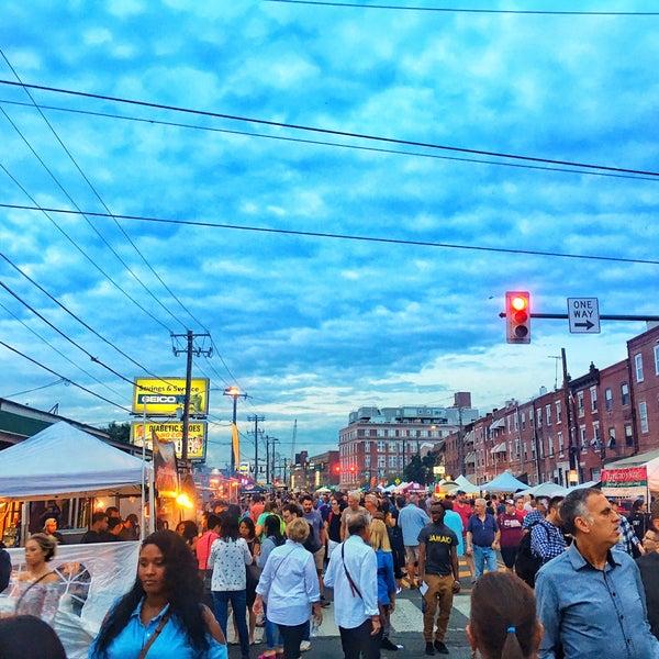 Photo taken at Night Market Washington Avenue by Jamez on 10/5/2017