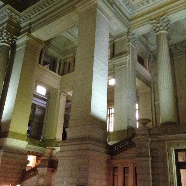 Photo taken at Justitiepaleis / Palais de Justice by Р. S. on 2/21/2013